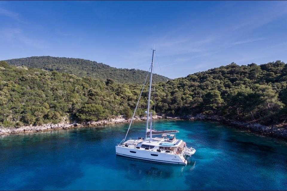 Луксозни плавания с катамаран  SABA 50