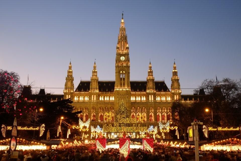 Коледа във Виена от София
